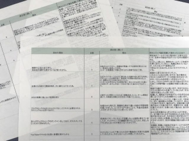 侍エンジニア塾アンケート集計